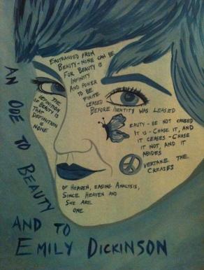 © Alyssa Marie Warncke, Ode to Anna and Miss Dickinson, 2012