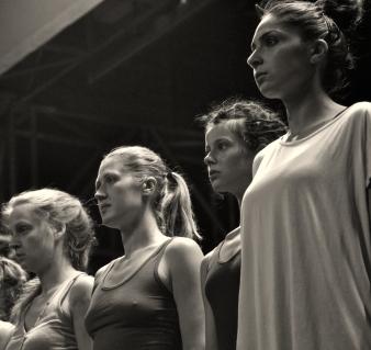 © Anja Schaar, 2013. Mit Wiebke Heinrich, Kamila Olympia Rudnicki, Stella Monga und Mozhgan Rabbany.